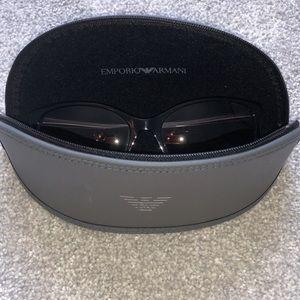 Black Emporio Armani sunglasses